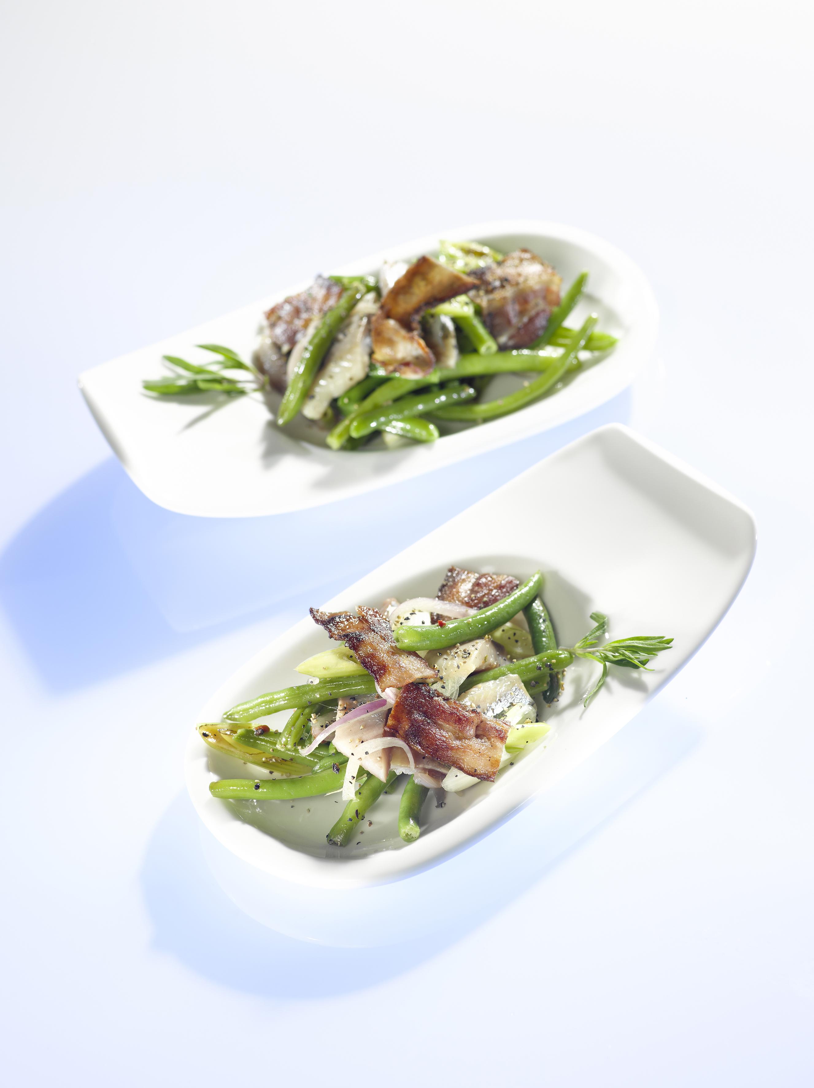 Matjes Bohnen Salat