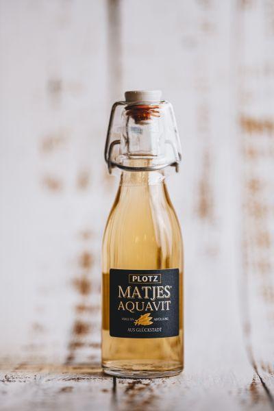 Plotz Matjes Aquavit 0,2 L Bügelflasche