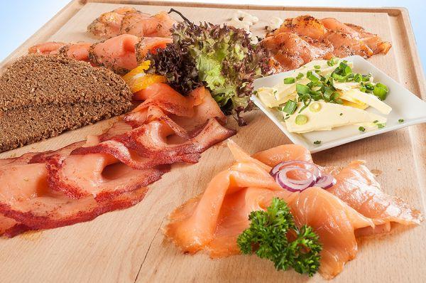 Gourmet Festtags-Lachsplatte 750g