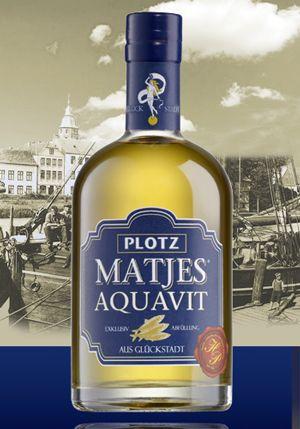 Plotz Matjes Aquavit 0,5 L Flasche