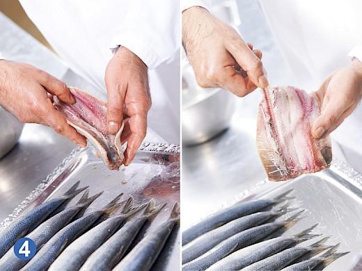 Matjes Herstellung in der Plotz Fischmanufaktur