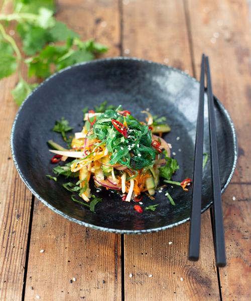 Wakame, marinierter Seegras Salat, ca. 250g